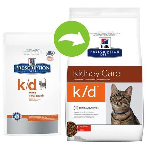 Hills prescription diet feline k/d - 5 kg   dostawa gratis! (0052742430805)