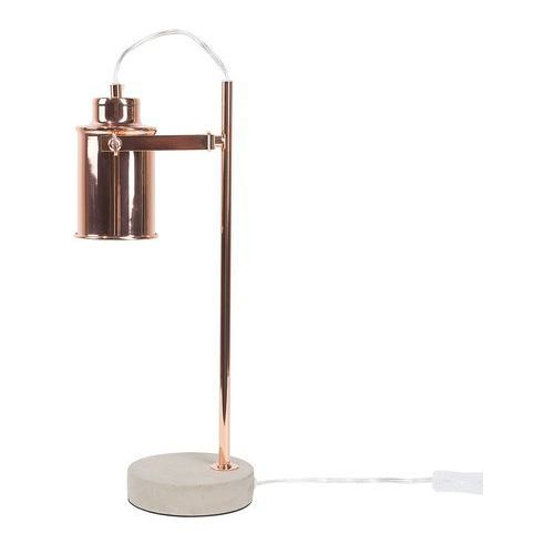 Lampa stołowa miedziana 37 cm MUNDAKA (4260586358605)