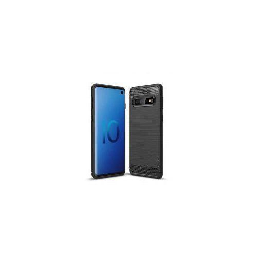 iPaky Slim Carbon elastyczne etui pokrowiec Samsung Galaxy S10 czarny, 48768 (11734477)