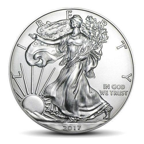 The united states mint Amerykański orzeł 1 uncja srebra - 15dni