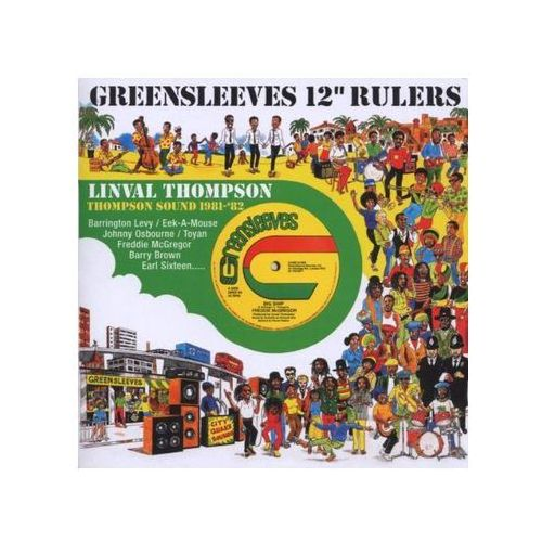 "Thomas, Linval - Greensleeves 12"" Rulers - 1981-82 (0601811161623)"