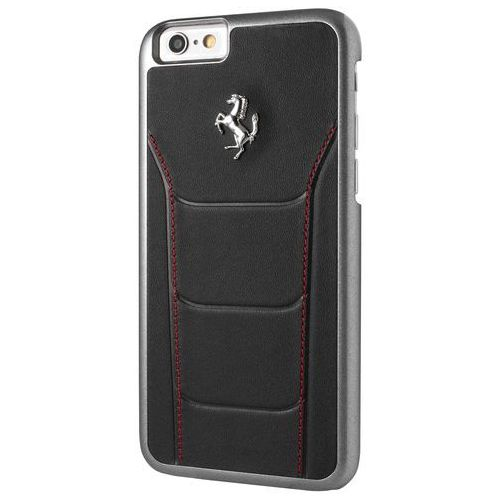 Ferrari Etui Hardcase FESEHCP6BKR iPhone 6/6S czarne DARMOWA DOSTAWA DO 400 SALONÓW !! (3700740373620)