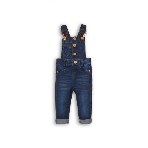Spodnie ogrodniczki niemowlęce 5l35ab marki Minoti