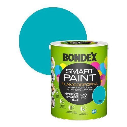 Bondex Farba hybrydowa smart paint turkusowy zawrót głowy 5 l