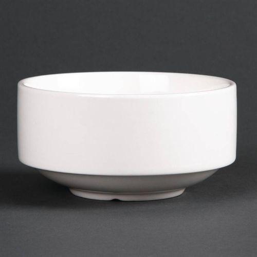 Miska na zupę porcelanowa 398ml | 6 szt. marki Lumina fine china