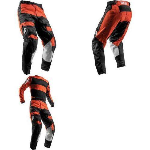 Thor spodnie youth pulse level red orange/black =$ marki Thor_2018
