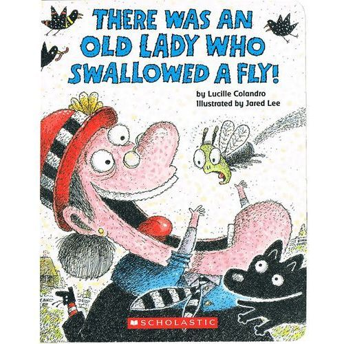 There was an Lady who swallowed a fly (Board book)