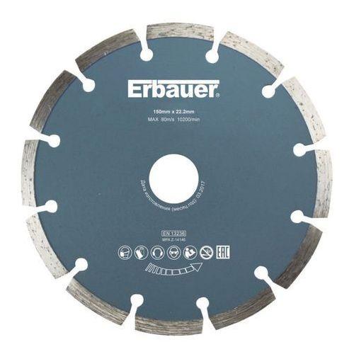 Erbauer Tarcza diamentowa segmentowa 150 mm