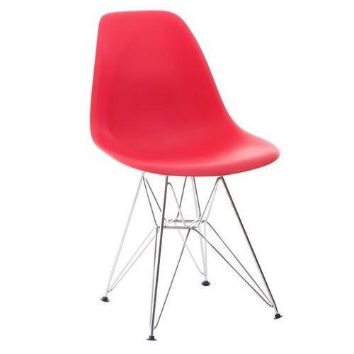 Krzesło P016 PP inspirowane DSR - czerwony (5902385700764)