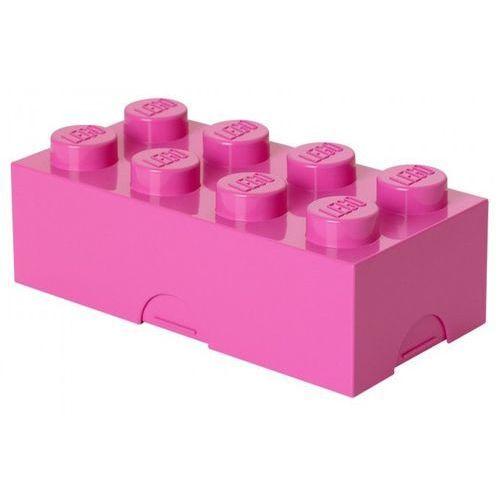 ŚNIADANIÓWKA LEGO KLOCEK RÓŻOWY - LEGO POJEMNIKI