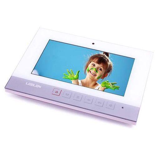 monitor 7'' kolorowy jb304_n75bw z pamięcią (biały) jb304_n75bw - autoryzowany partner leelen, automatyczne rabaty. marki Leelen