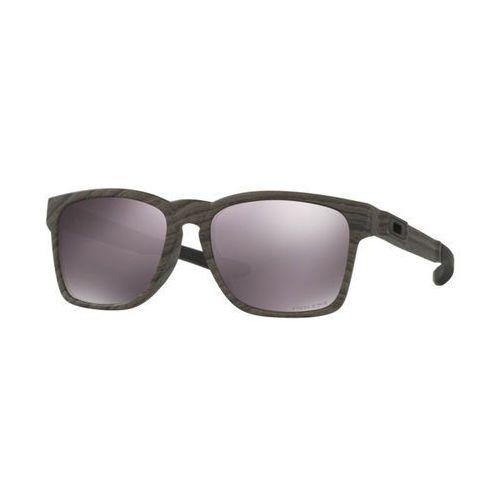 Okulary Słoneczne Oakley OO9272 CATALYST Asian Fit Polarized 927220, kolor żółty