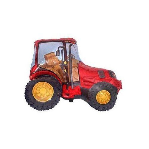 Flx Balon foliowy traktor czerwony - 36 cm - 1 szt.