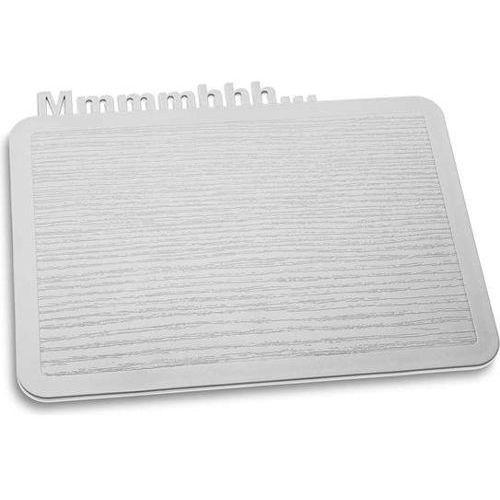 Deska śniadaniowa Happy Boards Mmmmhhh... jasnoszara