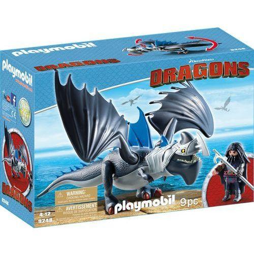 Playmobil DRAGONS Dragons drago i uzbrojony smok 9248