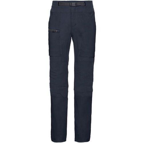 Vaude skarvan spodnie długie mężczyźni niebieski 48 2018 spodnie i jeansy