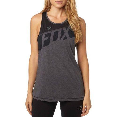 FOX koszulka bez rękawów damska Transferred Muscle S ciemnoszary, kolor szary