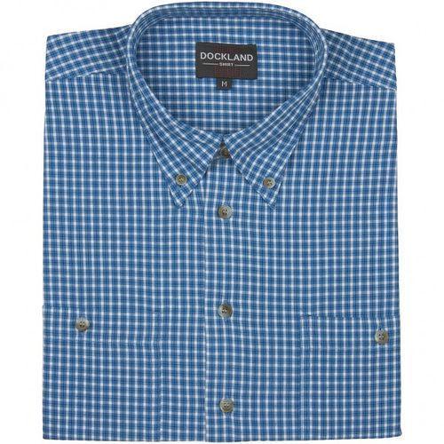 Koszula męska Dockland z krótkim rękawem, bawełna