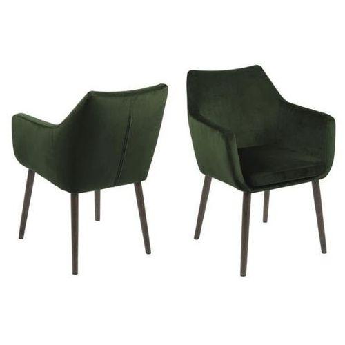 Krzesło Nora VIC Forest Green - zielony ciemny, 114531
