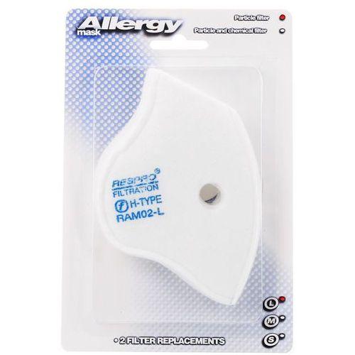 RESPRO Allergy Filtry zapasowe do masek antysmogowych Techno Cinqro Sportsta 2szt Rozmiar: L z kategorii Pozostałe