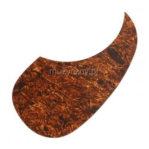 Boston AG 100 TBP pickguard, łza tortoise brown pearl