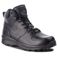 Nike Buty - manoa leather 454350 003 black/black/black