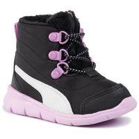 Śniegowce - bao 3 boot inf 190113 06 puma black/orchid/puma white marki Puma