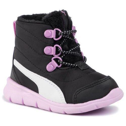 Śniegowce PUMA - Bao 3 Boot Inf 190113 06 Puma Black/Orchid/Puma White, kolor czarny