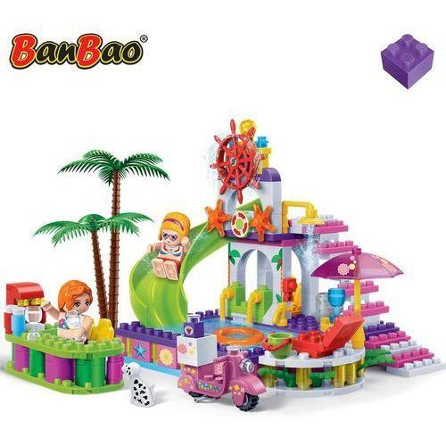 Banbao basen plażowy, zestaw klocków, 6128 (6953365361283)