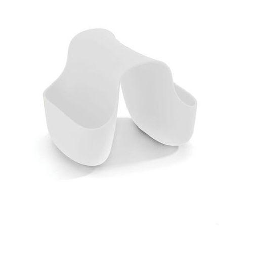 Umbra - Uchwyt na gąbkę Saddle - biały - biały