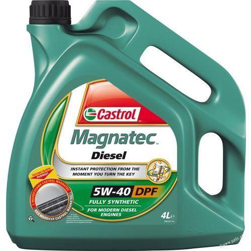 Olej Castrol Magnatec Diesel 5W40 4 litry !ODBIÓR OSOBISTY KRAKÓW! lub wysyłka