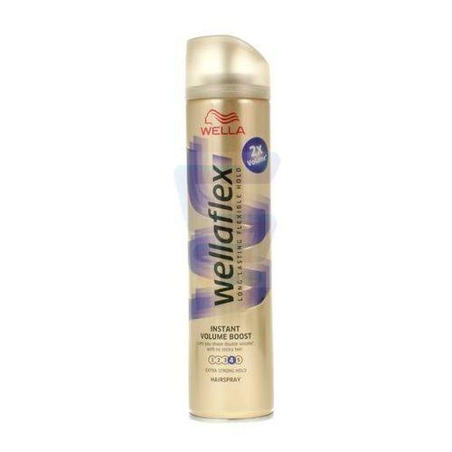 Procter & gamble Lakier do włosów wella wellaflex instant volume boost bardzo mocno utrwalający 250 ml (4015600729684)