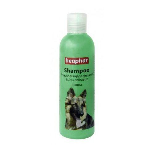 Szampon ziołowy do przetłuszczajacej się sierści 250ml - dla psów marki Beaphar