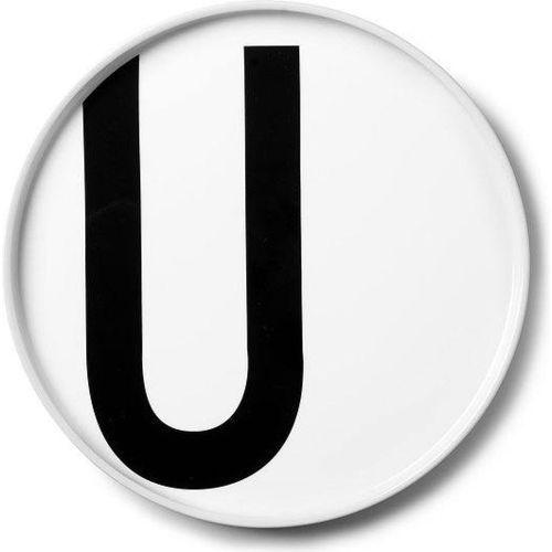 Talerz porcelanowy AJ litera U, 10101501-u
