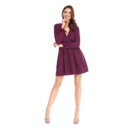 Sugarfree Sukienka romanica w kolorze śliwkowym
