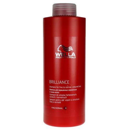 Wella Brilliance - szampon do cienkich włosów farbowanych 1000ml z kategorii Mycie włosów
