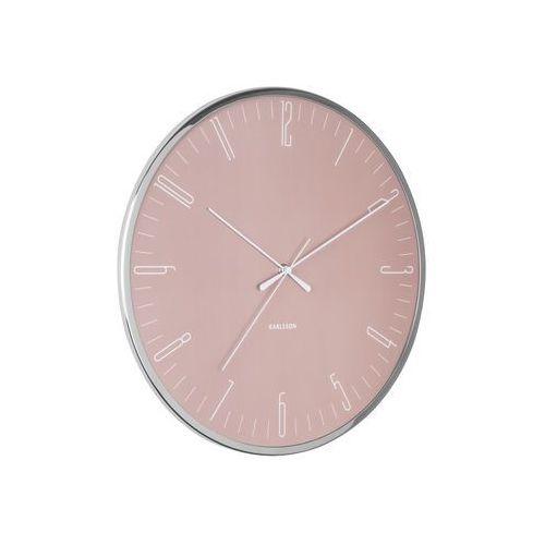 Zegar ścienny dragonfly różowy marki Karlsson