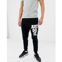 jdi logo skinny joggers in black 931903-010 - black marki Nike