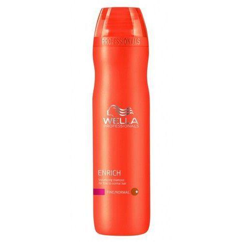 Wella enrich fine szampon volume do cienkich/norm. włosów (fine) - 250 ml marki Procter & gamble