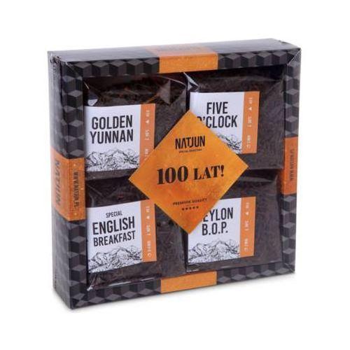 4x40g zestaw 4 herbat czarnych marki Natjun