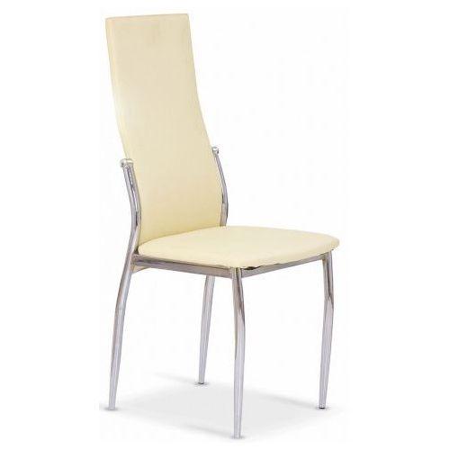 Tapicerowane krzesło Galder - waniliowe, V-CH-K/3-KR-WANILIOWY