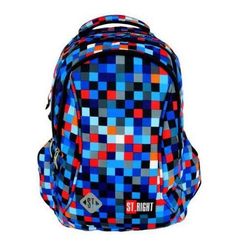 Plecak szkolny Stright BP-26 Pixelmania Blue (5903235612039)