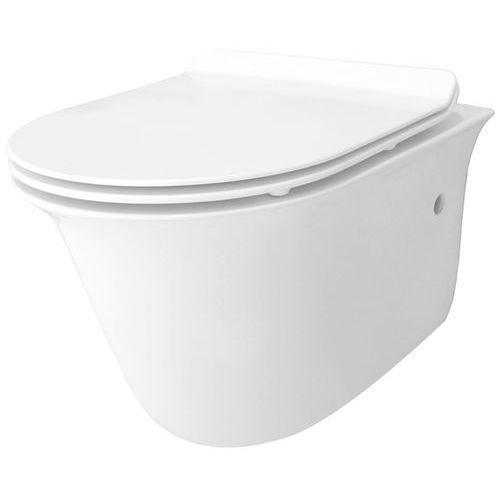 Miska wisząca WC bezkołnierzowa, Lucio Rimless Rea ✖️AUTORYZOWANY DYSTRYBUTOR✖️ (5902557329496)