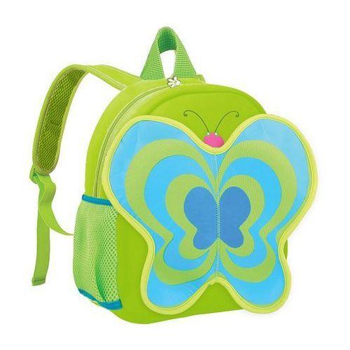 Plecak neoprenowy motyl zielony marki Spokey