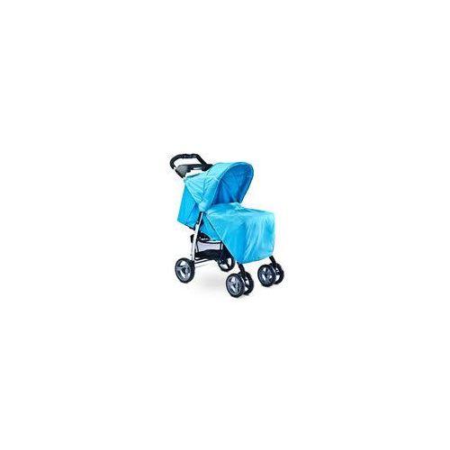 Caretero Wózek spacerowy monaco  + gratis (niebieski)