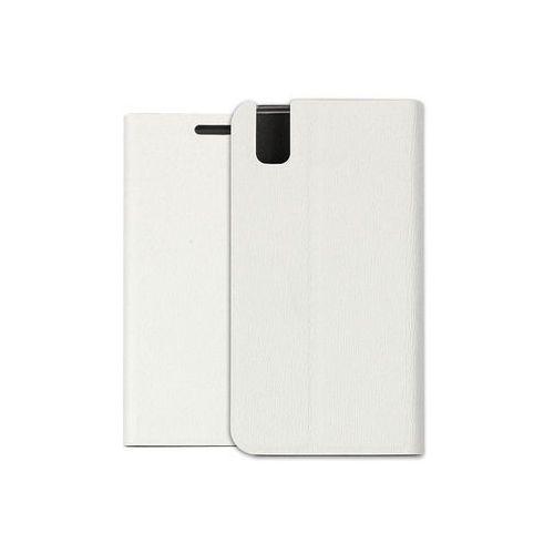 Huawei shotx - pokrowiec na telefon - biały marki Etuo flex book