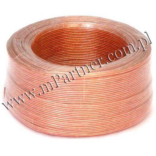 Przewód głośnikowy kabel CCA 2x0,75 mm
