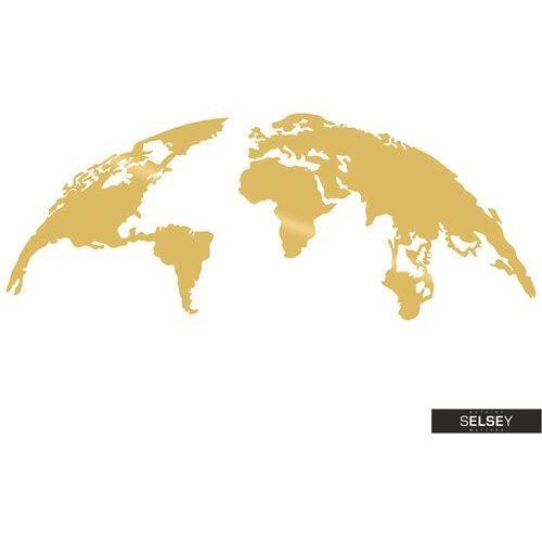 SELSEY Dekoracja ścienna Algieba 150x59 cm złota (5903025399904)