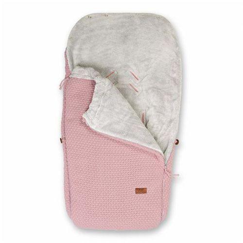 Baby's Only, Robust old pink, Śpiworek do wózka, jasnoróżowy