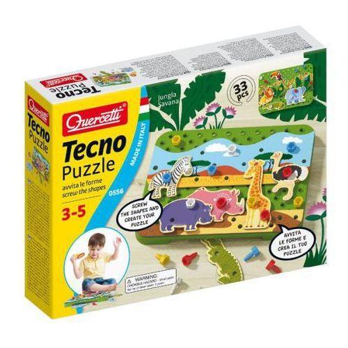Tecno puzzle Dżungla Sawanna - Quercetti